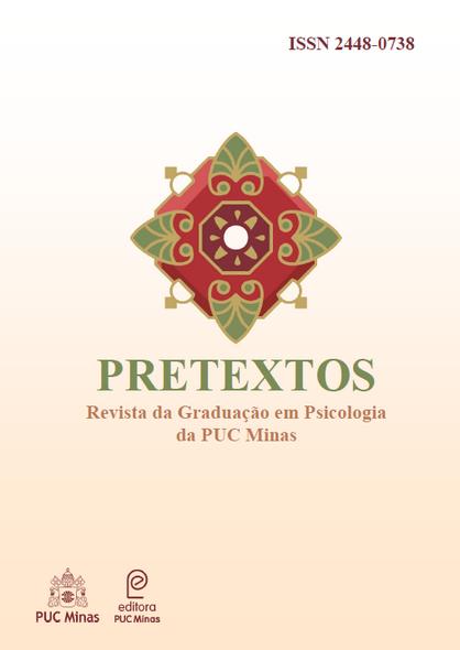 Capa Pretextos Psicologia PUC Minas